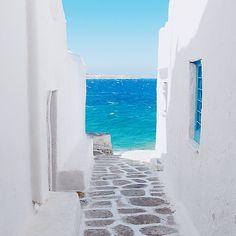 Grecia. Mar turquesa