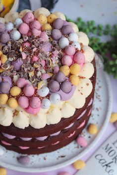 Easter Food, Easter Treats, Easter Recipes, Chocolate Birthday Cake Decoration, Sweet Recipes, Cake Recipes, Sweetie Cake, Yummy Treats, Sweet Treats