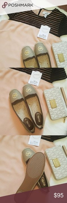 Michael Kors Loafers Authentic Michael Kors Loafers  New.never worn Size 7.5. Reasonable offers are welcome use offer option Michael Kors Shoes