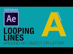 Looping lines / strokes After Effects Tutorial - YouTube Adobe After Effects Tutorials, After Effects Projects, Video Effects, Photoshop Effects, Cinema 4d Tutorial, Animation Tutorial, Line Animation, Adobe Animate, Motion Video