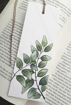 Creative Bookmarks, Cute Bookmarks, Paper Bookmarks, Bookmark Craft, Watercolor Bookmarks, Watercolor Paper, Crochet Bookmarks, Book Markers, Art Store