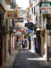 Beautiful old town of Benidorm