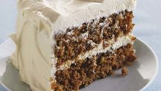 Classic Carrot Layer Cake with Vanilla Cream Cheese Frosting - FineCooking