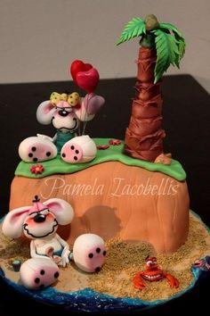 diddl Cake  Cake by Pamela