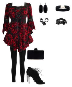 """Untitled #1957"" by charactertickles ❤ liked on Polyvore featuring Balmain, Yves Saint Laurent, Kendra Scott and Valentino"