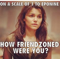 I now totally understand why there are so many friendzoned jokes about Eponine. It was so sadddd! (but this is funny:)