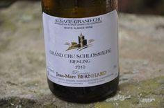 Riesling d'Alsace, Grand Cru Schlossberg, 2012, Jean-Marc Bernhard #DrinkAlsace