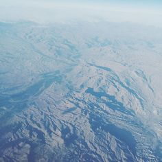 """Over mountains. Back """"home"""" now."""