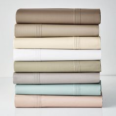 Legends® 600-Thread Count Sateen Bedding - One of our finest bedding collections, bar none. Loomed of pure Egyptian cotton, our 600-thread count sheets haves a sateen weave for subtle luster and luxurious softness.