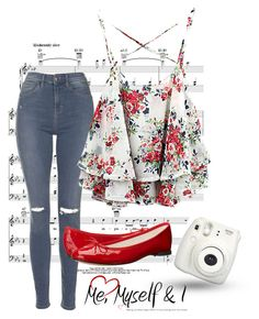 """""""Day 105"""" by bedelevingne on Polyvore featuring moda, Topshop y Repetto"""