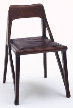RICHARD RIEMERSCHMID  Side Chair, 1898-99