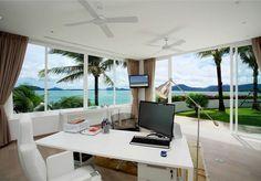 Oceanfront beach house with Unique Panorama in Phuket - InteriorZine