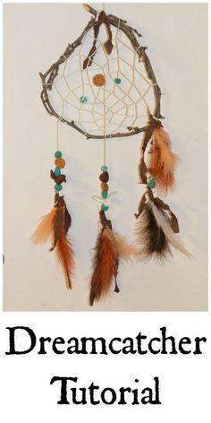 Easy Twig Dream Catcher.
