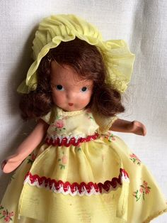 Vintage Bisque Nancy Ann Storybook Jointed Leg Doll by Jewelmoon