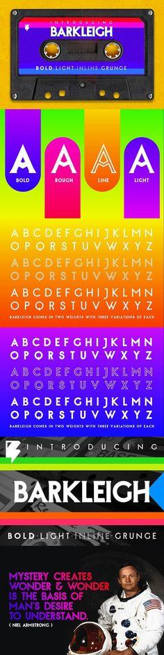Barkleigh Font. Best Fonts