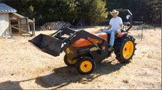 Solar Electric Tractor Model 12 - Steve Heckeroth, via YouTube.