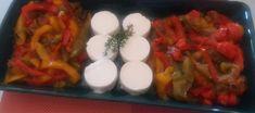 Verrukkelijke peperonata van paprika met heerlijke zachte geitenkaas Bruchetta, Sushi, Pasta, Breakfast, Ethnic Recipes, Food, Wordpress, Seeds, Morning Coffee