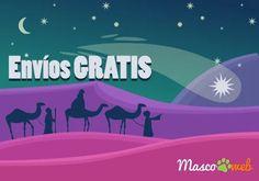 #Felizañonuevo Los #ReyesMagos ya están de camino y han dejado #envíos #GRATIS a su paso por nuestra #tienda de #mascotas ¡¡No te quedes sin el tuyo!!🐶🐱🎁☄️ #tiendaonline #oferta #promoción #cupón #vale #petlovers #peludos #perros #gatos