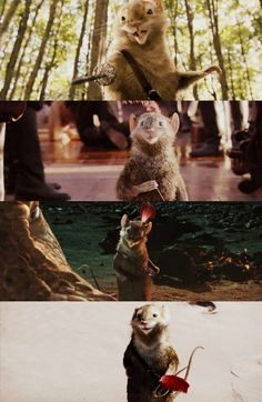 chronicles of narnia.  Cried like a baby when he sailed over the wave in voyage of the dawn treader...