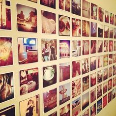 How to Print Instagram Photos (12 ways!) So helpful. Now I have a wall in my room full of these!