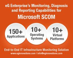 The eG Enterprise Universal Management Pack for Microsoft SCOM