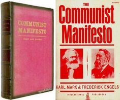 Communist-Manifesto_M Karl Marx, Books, Creativity, Passport, End Of Year, Angel, Libros, Book, Book Illustrations