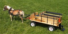 flatbed pony cart - no seats in the back though