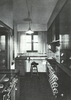 MoMA | Schütte-Lihotsky's Frankfurt kitchen, 1926.