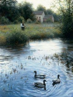 """Peaceful Evening"" by Robert Duncan www.robertduncanstudios.com"