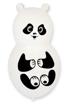 Pandabeer ballonnen 40 cm  Pandabeer ballonnen. Leuke ballonnen in de vorm van pandaberen. Deze panda beer ballonnen zijn ongeveer 40 cm. U ontvangt 4 panda beer ballonnen. De pandabeertjes hebben witte oren in plaats van zwart!  EUR 5.50  Meer informatie