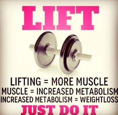 And there it is... Why you should be lifting and not just cardio!