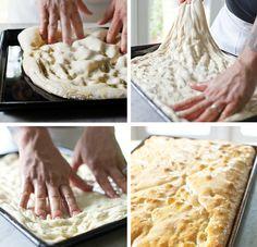 How to Make Sicilian-Style Pizza Dough #recipe