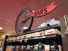 Bike wheel energy bars by Elissa Surabian