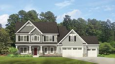 Home Plan HOMEPW77072 - 2571 Square Foot, 4 Bedroom 2 Bathroom Traditional Home with 3 Garage Bays | Homeplans.com