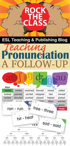 These pronunciation activities are print-ready pdf files you can download and start using in class today!