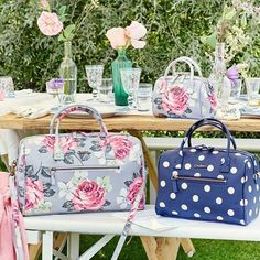 New SS16 Cath Kidston bowler bags