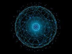 Data Planet by Kristian Paljasma Adventure Symbol, Travel Baby Showers, Planet Design, Futuristic Art, Ancient Mysteries, Universe Art, Animation Background, Work Inspiration, Motion Design