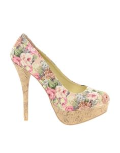 Sugarfree Shoes | Sugarfree Flowery Heeled Shoe at ASOS