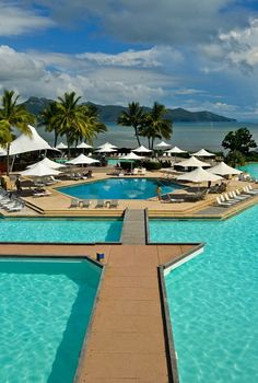 One & Only Hayman Island Resort, Australia - This private island resort in the Whitsundays is the closest resort to the Great Barrier Reef. When I stayed there on RTW #8 it was called the Hayman Island Resort but it re-opened in July 2014 as One&Only Hayman Island.