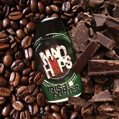 Flavor your beer with the dark, bold taste of chocolate and coffee with a squirt of Mad Hops Irish Porter Beer Drops.