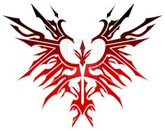 Tribal 30 Red by kuroakai on DeviantArt Tattoo Drawings, Body Art Tattoos, Tribal Tattoos, Art Drawings, Rabe Tattoo, Character Art, Character Design, Tattoo Character, Stammestattoo Designs