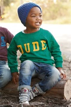 Buy Slogan Crew Neck (3mnths-6yrs) from the Next UK online shop
