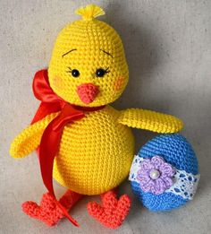 We continue to produce healthy toys and share what we produce with Amigurumi recipes.You can find Amigurumi knitting models on our website. Crochet Penguin, Crochet Bunny, Free Crochet, Easter Crochet Patterns, Amigurumi Patterns, Crochet Gifts, Crochet Toys, Moldes Para Baby Shower, Stuffed Animal Patterns