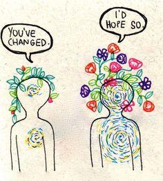 Cambios. Una palabra tan sencilla y la cuál trae consigo grandes consecuencias. ¿Por qué tememos al cambio?, ¿es cambiar malo?. Yo no creo que sea malo, solo que muchas veces el cambio significa de…