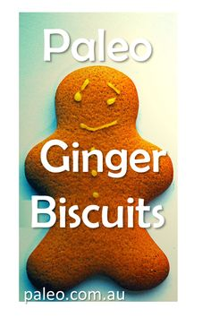 Gingerbread Men (or cookies!) will try with coconut oil and not butter