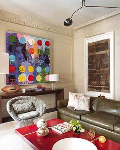 mid century contemporary interiors design