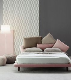 Picabia, il letto di Giuseppe Viganò per Bonaldo - Interior Break