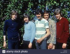 Download this stock image: MOODY BLUES - UK group about 1968 - A6706W from Alamy's library of millions of high resolution stock photos, illustrations and vectors.