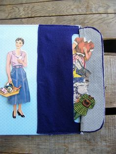 Tutorial for a Paper Doll Busy Board