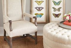Really wanting to do my living room in a vintage theme involving butterflies.